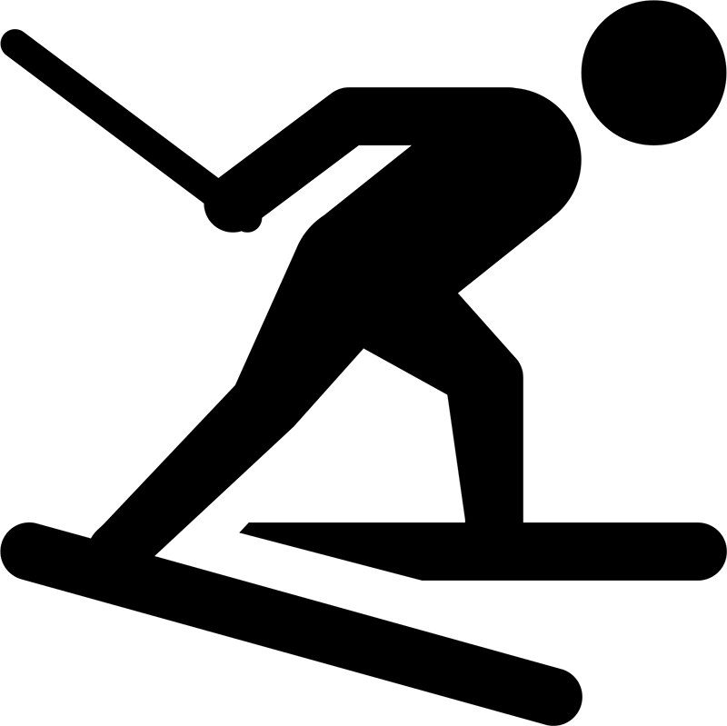 Langlaufloipe direkt am Haus